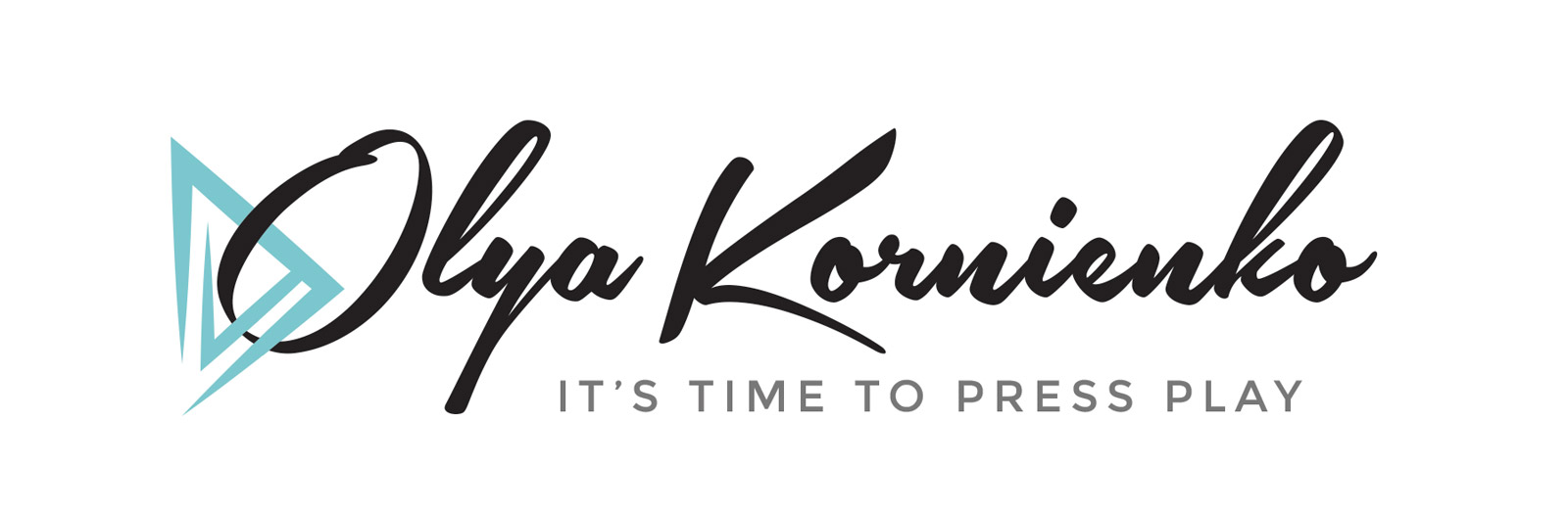 Olya Kornienko logo design